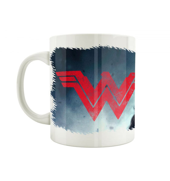 Mug Wonder Woman - DC Comics - Diane Face