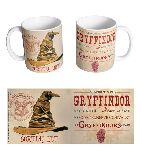 Mug Gryffondor - Harry Potter - Choixpeau