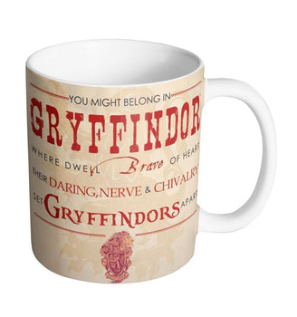 Mug Harry Potter - Sorting Hat Gryffindor