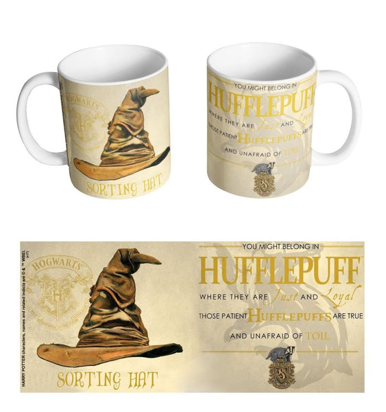 Mug Harry Potter - Choixpeau Poufsouffle
