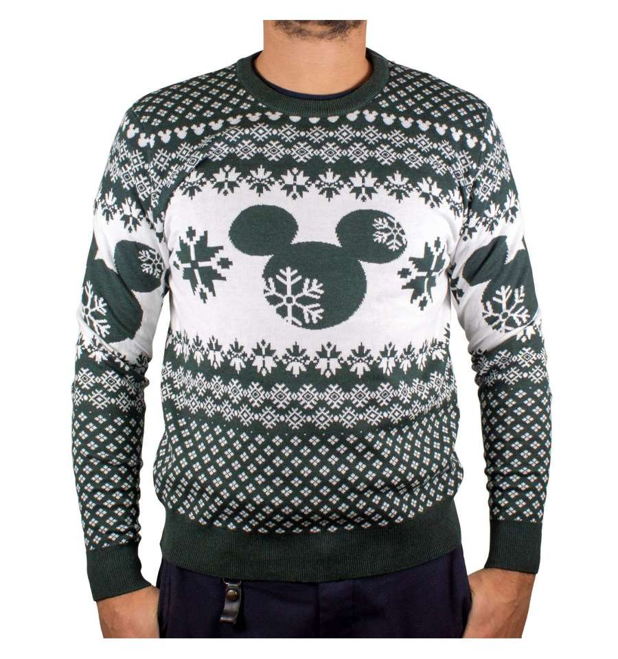 Pull Mickey - Homme - Disney - Christmas Ugly