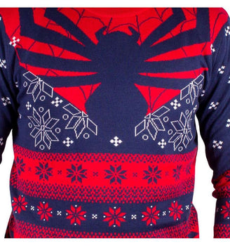 Pull Spider-Man - Homme - Marvel - Winter Spider
