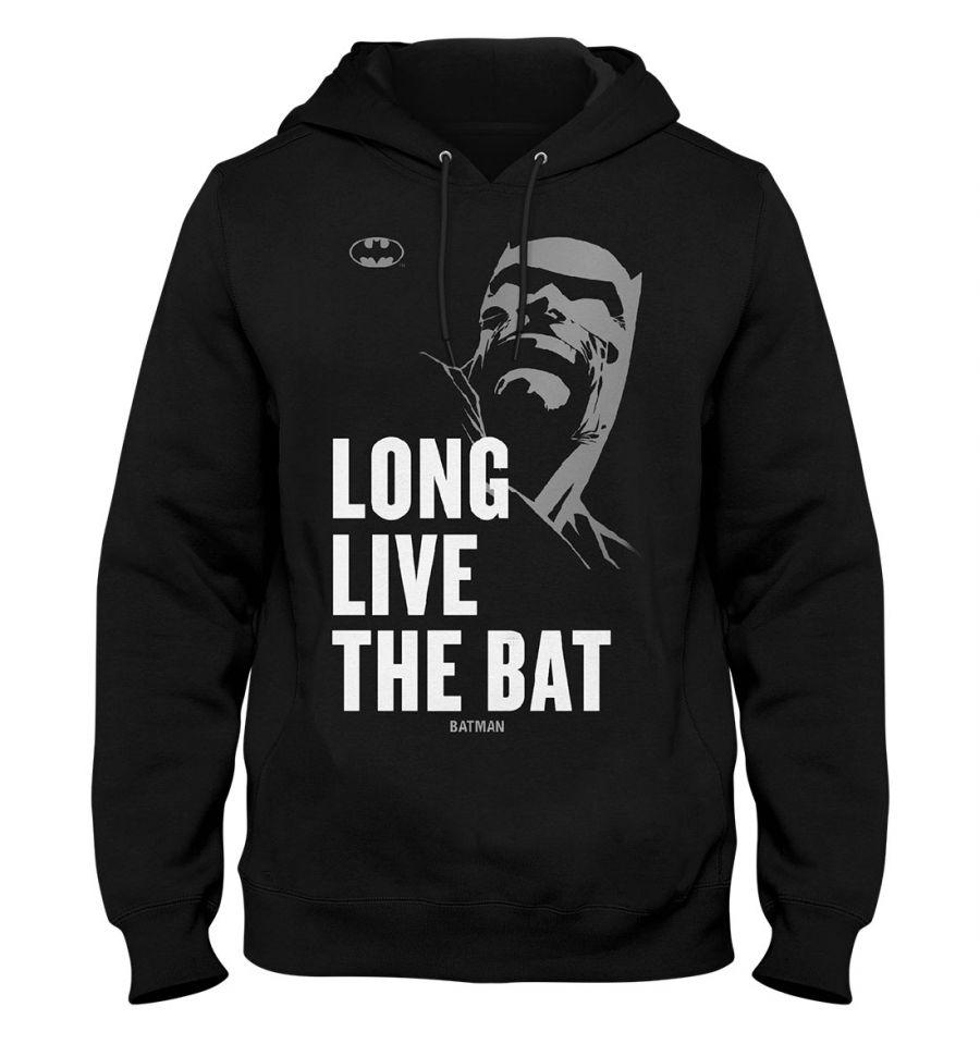 Sweat Batman - Homme - DC Comics - Long Live The Bat