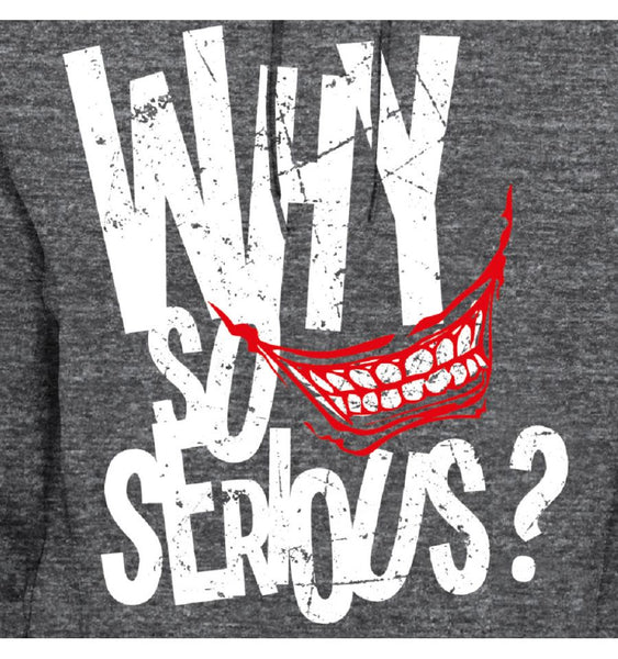 Sweat-Shirt Batman Joker - Homme - DC Comics - Why so Serious ?