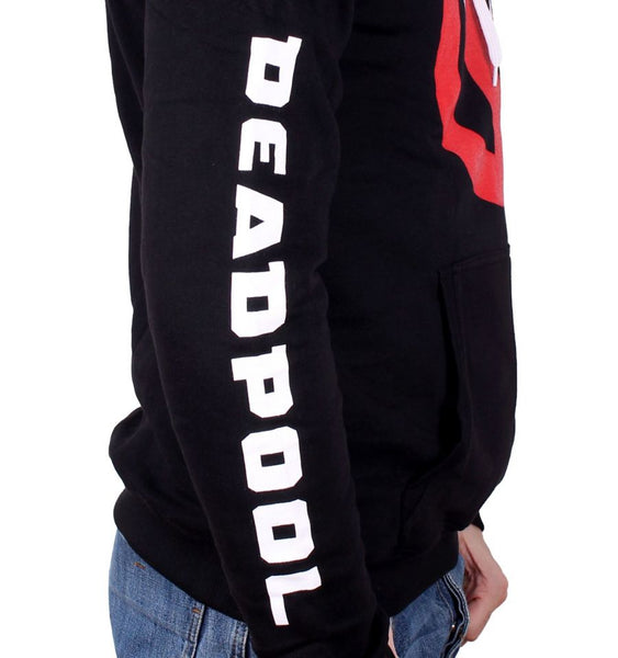 Sweat Deadpool à capuche - Homme - Marvel - Deadpool Logo