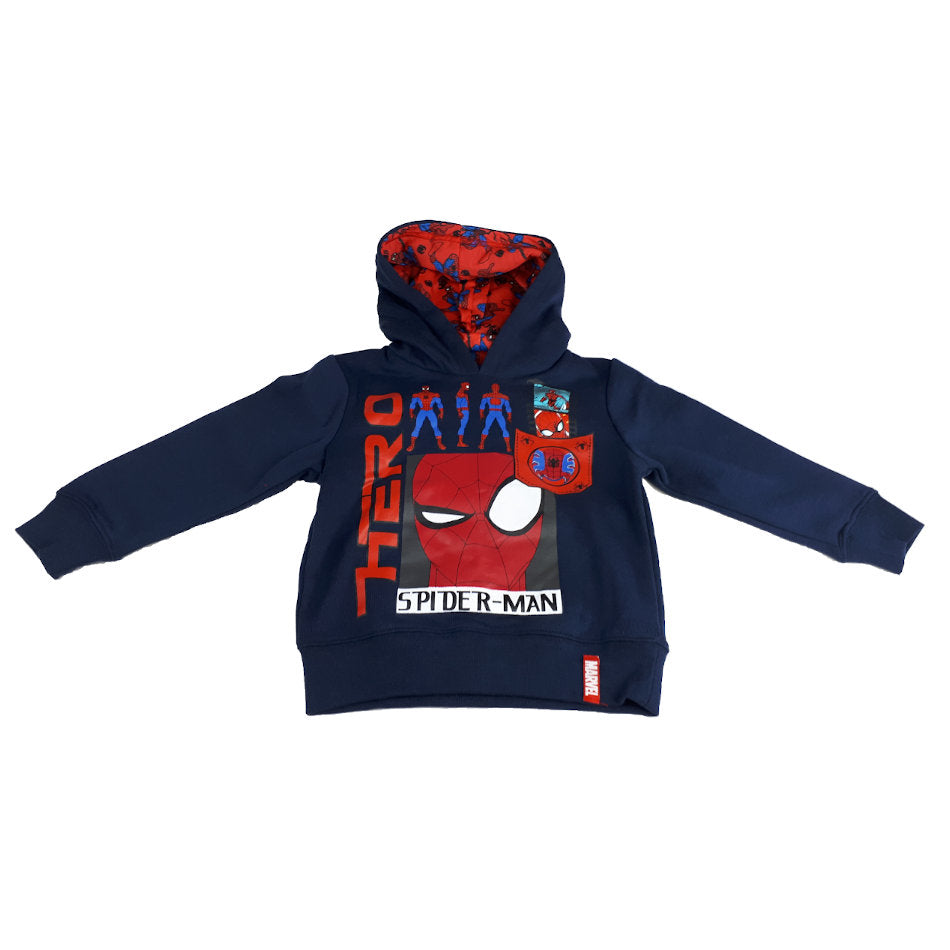 Sweat Shirt Spider Man Enfant Marvel Hero