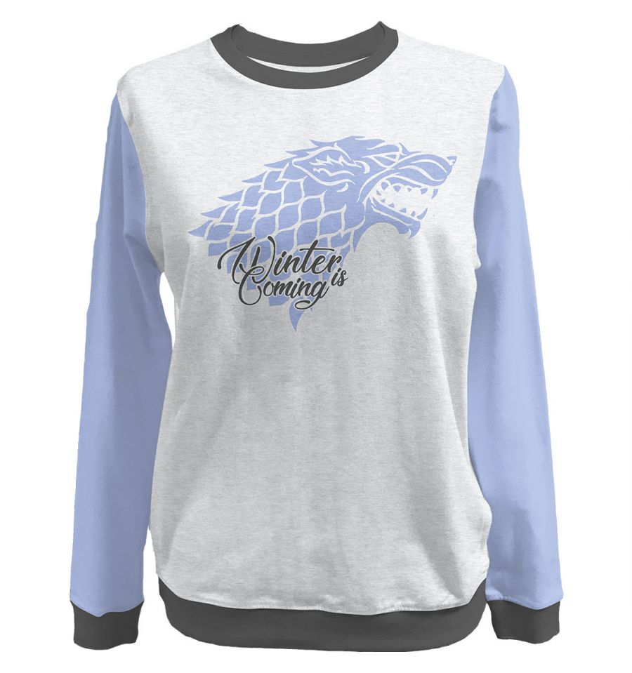 Sweat-Shirt Game of Thrones - Femme - Winter is Coming