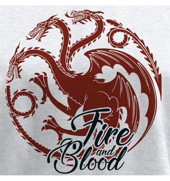 Sweat Targaryen - Game of Thrones - Femme - Fire And Blood