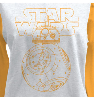 Sweat-Shirt Star Wars - Femme - BB8