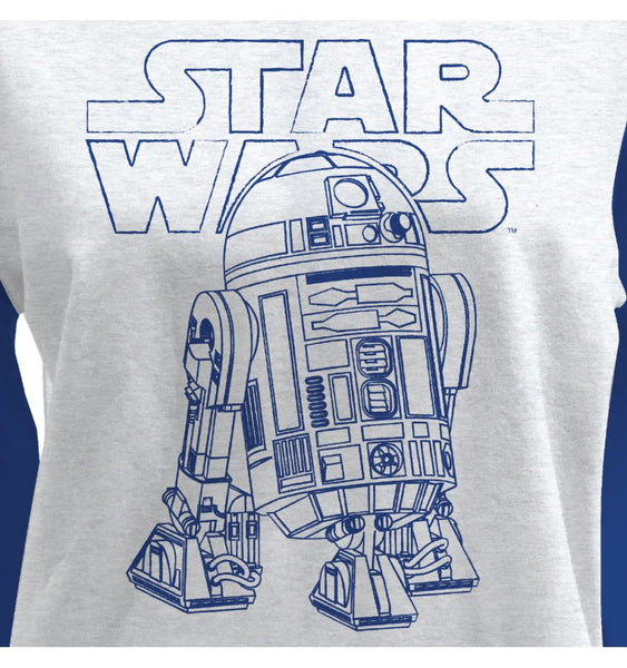 Sweat-Shirt Star Wars - Femme - R2D2
