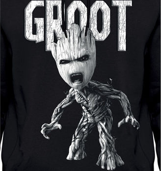 Sweat-Shirt Groot - Gardiens de la Galaxie - Homme - Marvel - Angry