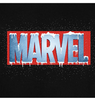 Sweat Marvel - Homme - Logo Hiver