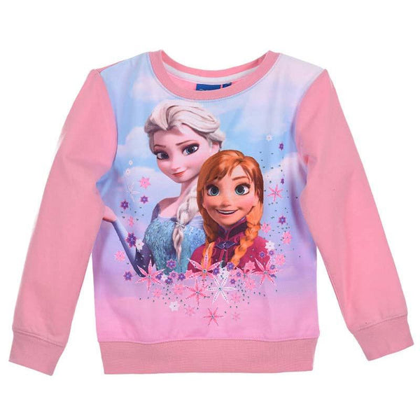 Sweat La Reine des Neiges - Enfant - Disney - Anna & Elsa
