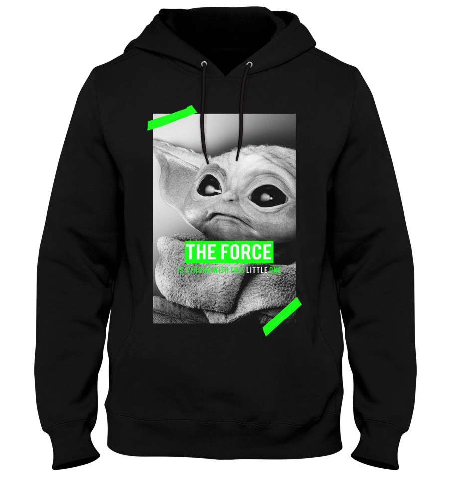 Sweat-Shirt Baby Yoda - Star Wars - Homme - Poster