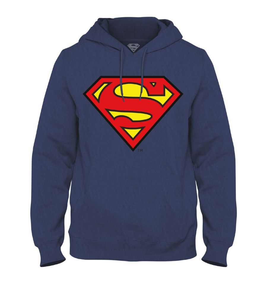 Sweat-Shirt Superman - Homme - DC Comics - Logo Classic
