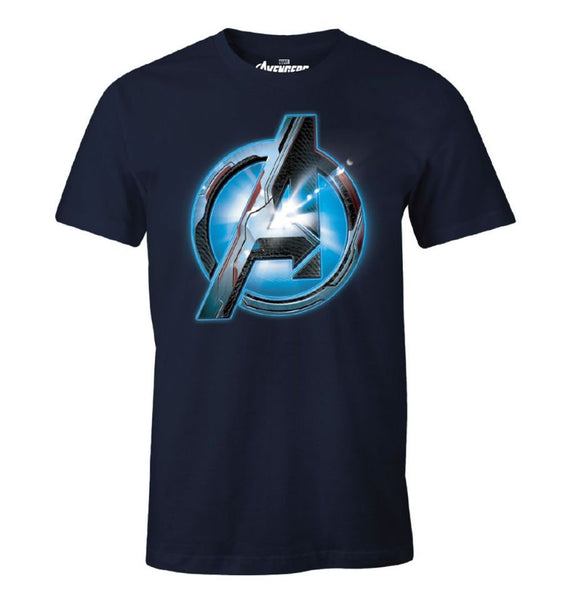 T-Shirt Avengers Endgame - Homme - Marvel - Optic Logo