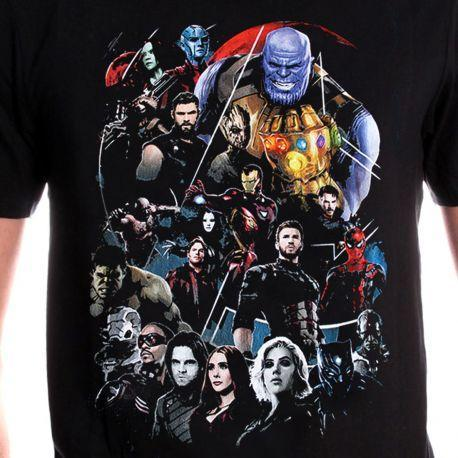 T-Shirt Avengers Infinity War - Homme - Marvel - Infinity Group