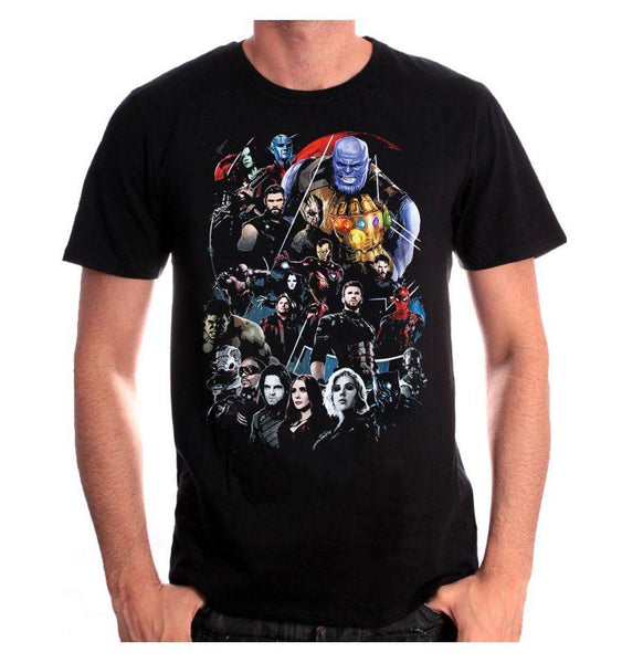 Tee-Shirt - Homme - Marvel - Avengers Infinity War - Infinity Group
