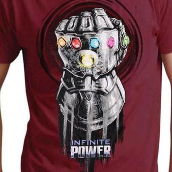 T-Shirt Avengers Infinity War - Homme - Marvel - Thanos Glove