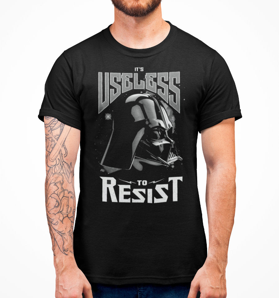 T-Shirt Dark Vador - Star Wars - Homme - Useless to Resist