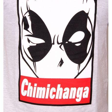 T-Shirt Deadpool - Homme - Marvel - Chimichanga