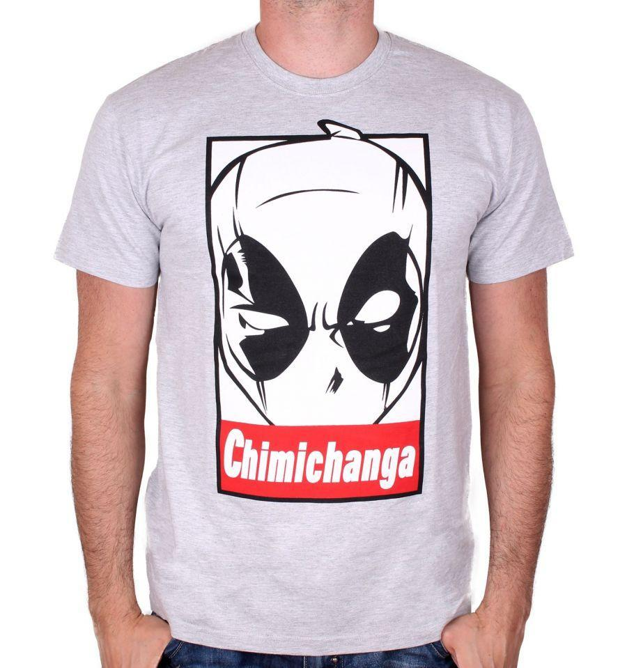 Tee-Shirt - Homme - Marvel - Deadpool - Chimichanga