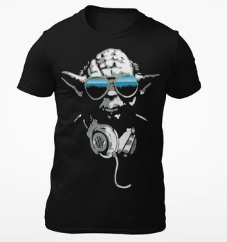 T-Shirt DJ Yoda - Star Wars - Homme