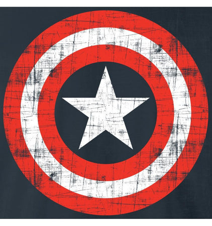T-Shirt Captain America - Enfant - Marvel - Vintage Logo