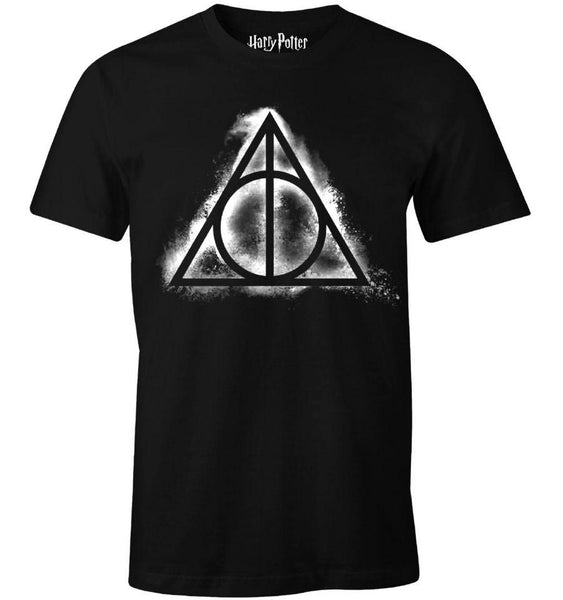 T-Shirt Harry Potter - Homme - Deathly Hallows Smoke