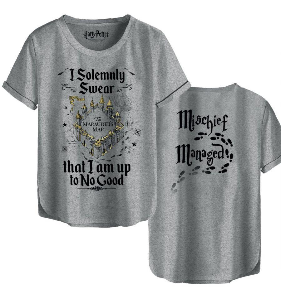 T-Shirt Je Jure Solennellement - Harry Potter - Femme