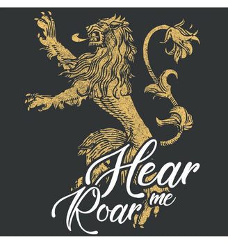 T-Shirt Lannister - Game of Thrones - Femme - Hear Me Roar