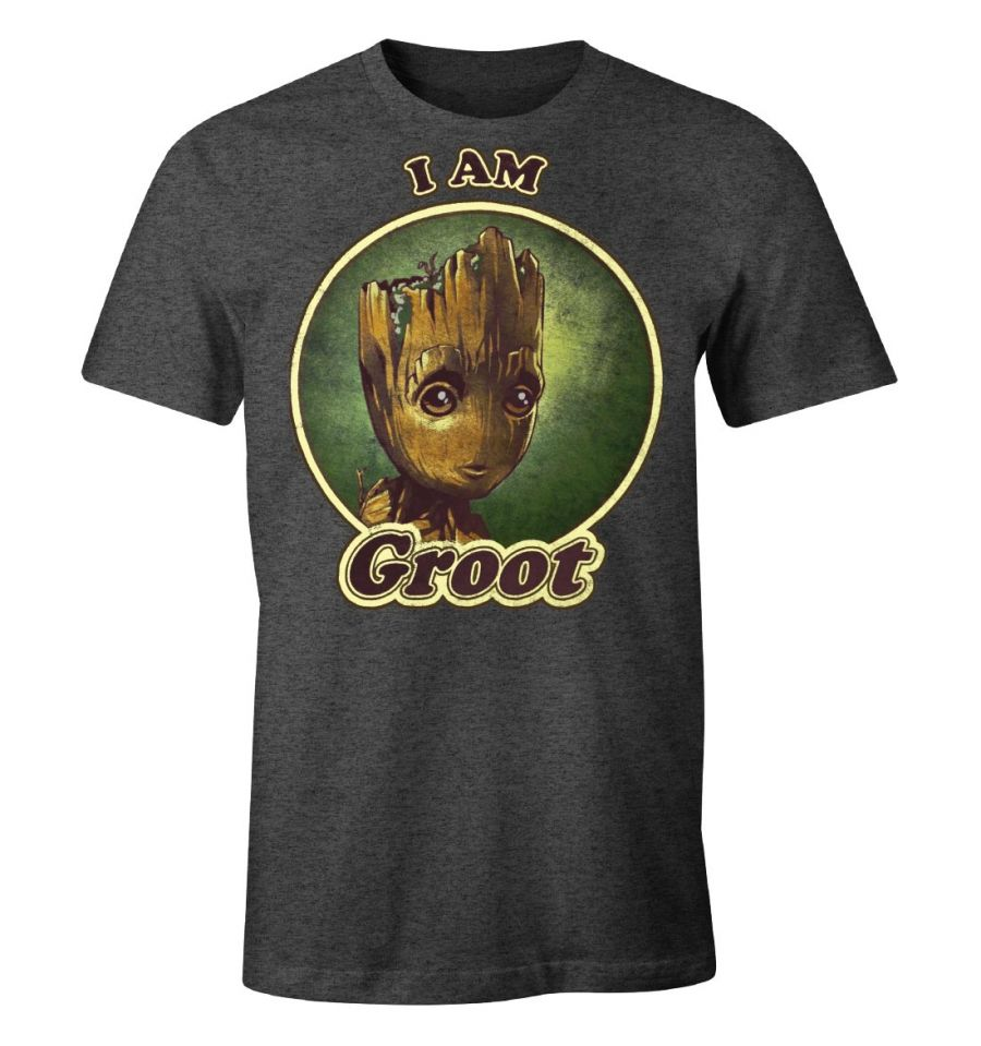 T-Shirt Groot - Gardiens de la Galaxie - Homme - Marvel - I am Groot Groovy