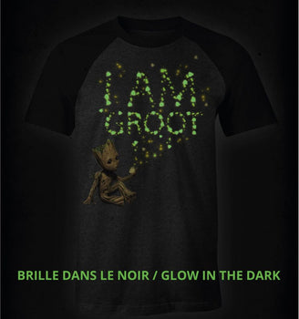 T-Shirt Groot - Gardiens de la Galaxie - Homme - Marvel - I Am Groot