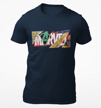 T-Shirt Marvel - Homme - Collage