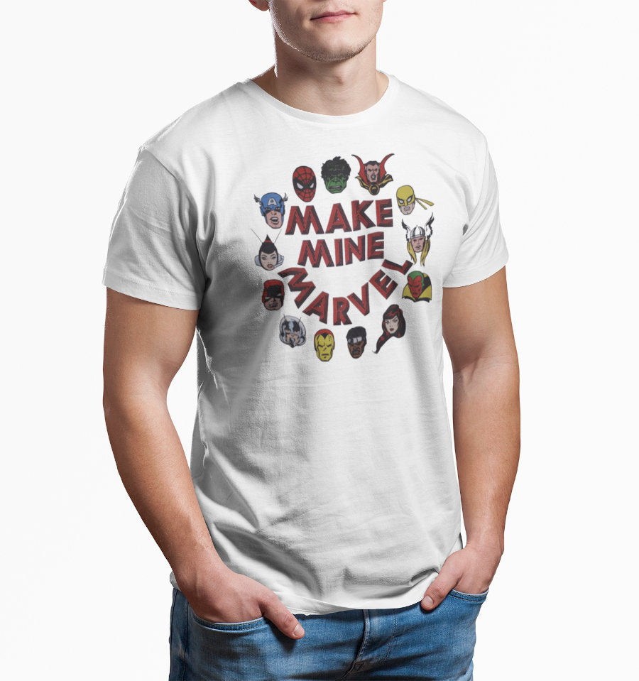 T-Shirt Marvel - Homme - Make Mine