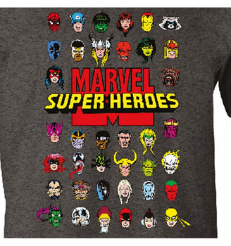 T-Shirt Marvel - Homme - Super-Heroes
