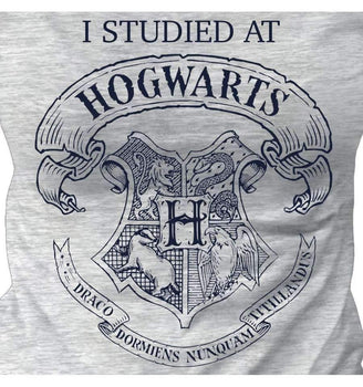 T-Shirt Poudlard - Harry Potter - Enfant Fille - I Studied At Hogwarts