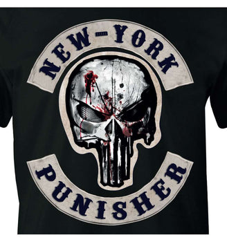 T-Shirt Punisher - Homme - Marvel - New-York