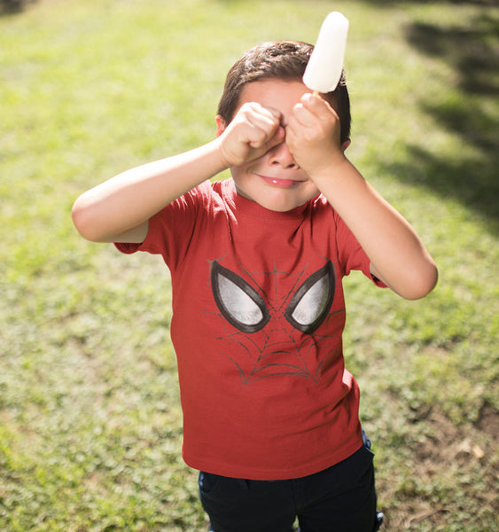T-Shirt Spider-Man - Enfant - Marvel - Mask Face