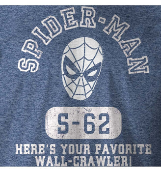 T-Shirt Spider-Man - Homme - Marvel - Wall Crawler!