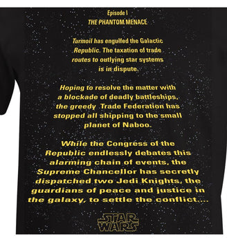 T-Shirt Star Wars - Homme - Episode 1