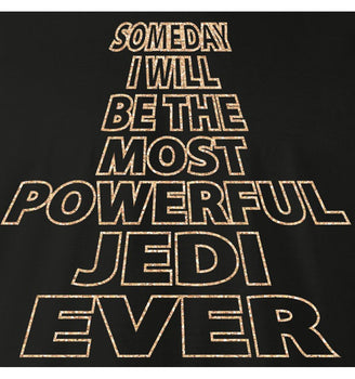 T-Shirt Star Wars - Homme - Most Powerful Jedi Ever