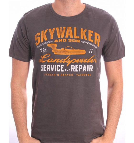T-Shirt Star Wars - Homme - Skywalker Landspeeder Repair