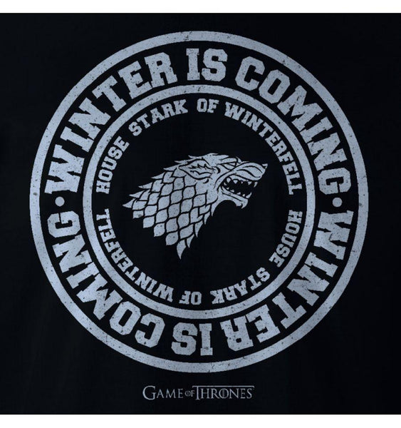 T-Shirt Stark - Game of Thrones - Homme - Winter is Coming