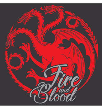 T-Shirt Targaryen - Game of Thrones - Femme - Fire & Blood