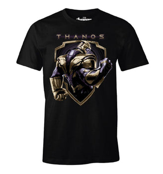 T-Shirt Thanos - Avengers Endgame - Homme - Marvel - Badge