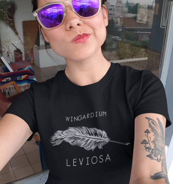T-Shirt Wingardium Leviosa - Harry Potter - Femme