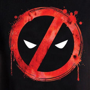 Tee-Shirt - Homme - Marvel - Deadpool - Forbiden Splash Head
