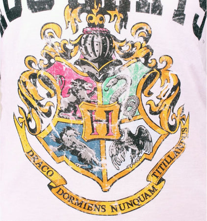 T-Shirt Harry Potter - Femme - Hogwarts School
