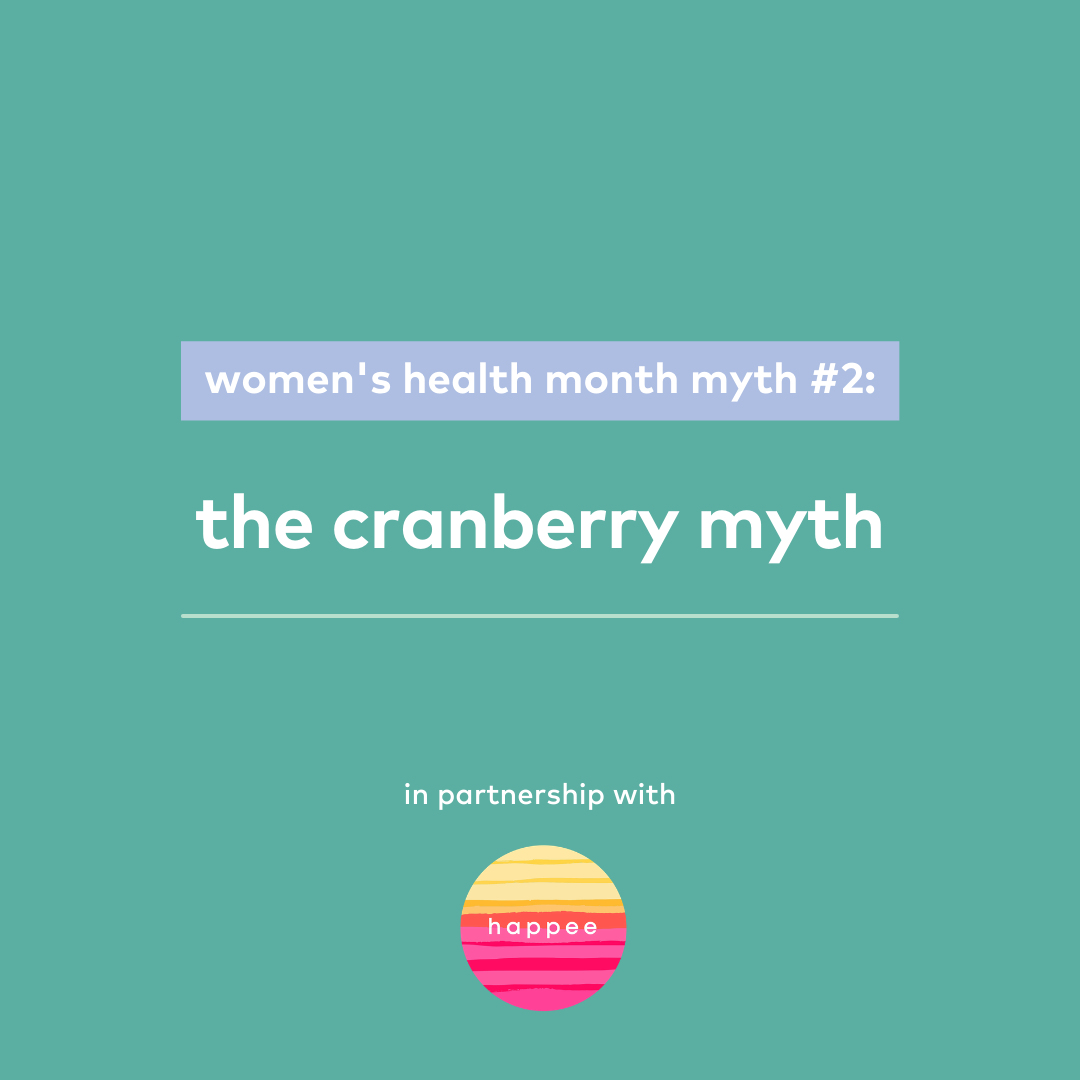 the craberry myth — in partnership with Happee